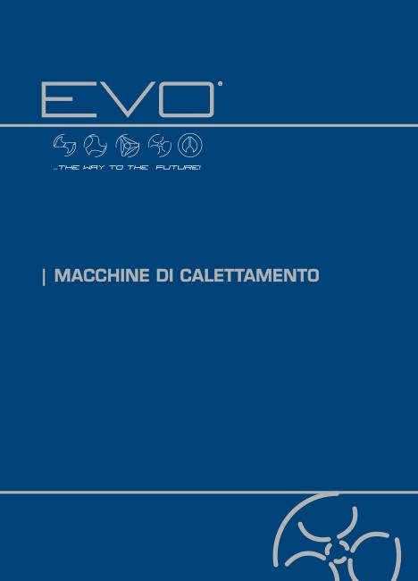 Catalogo Macchine di calettamento